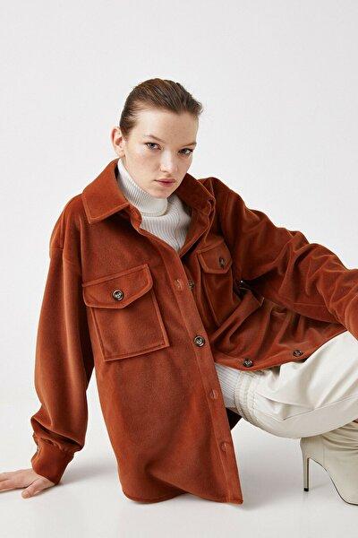 Kadın Kahverengi Ceket 1KAK23044EW