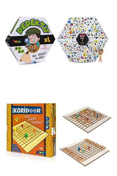 Dedektif & Koridor Aile Kutu Ve Eğlence Oyunu