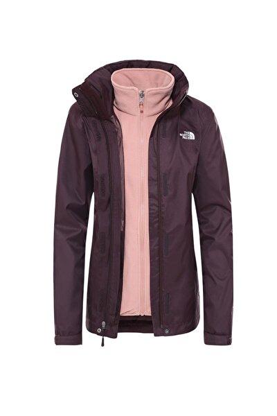 Triclimate Jacket Kadın Bordo (Nf00cg56us81tf14)