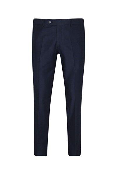 Rahat Kalıp Lacivert Erkek Kumaş Pantolon