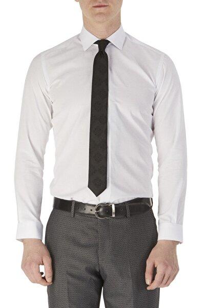 Gk 520 Slim Fit Beyaz Klasik Gömlek