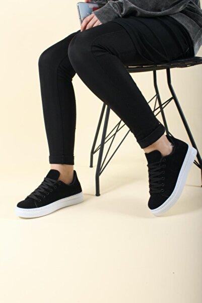 Elegan Süet Kadın Sneaker