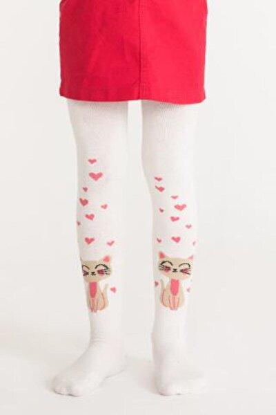 Marşmelov Pretty Cat In Love Külotlu Çorap