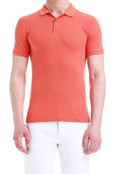 Ts 734 Slim Fit Mandalina Spor T-shirt