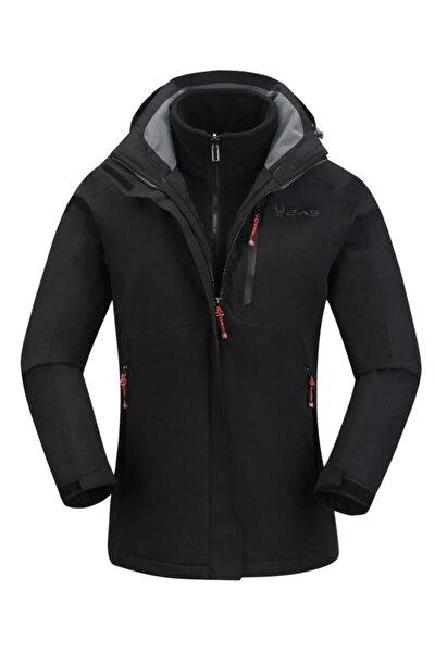 Kadın Siyah Sparkle 3in1 Ceket