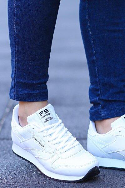 Beyaz Kadın Sneaker Ayakkabı 865za5010