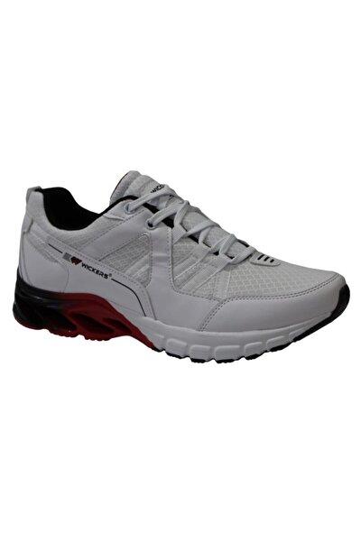 2362 Beyaz-kırmızı Anatomik (40-44) Erkek Spor Ayakkabı