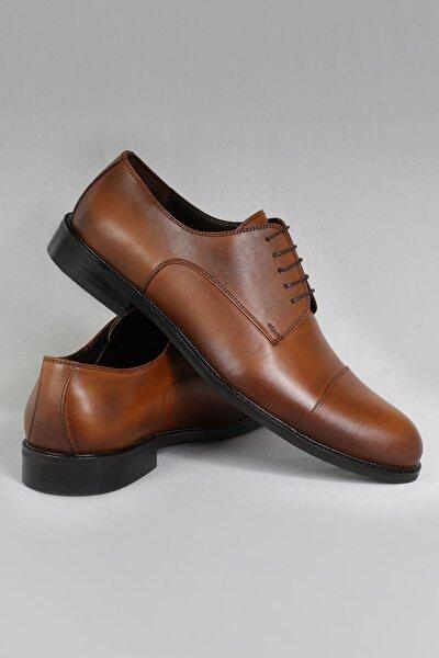 Hakiki Deri Erkek Klasik Ayakkabı Neolit Maskaretli Büyük Numara