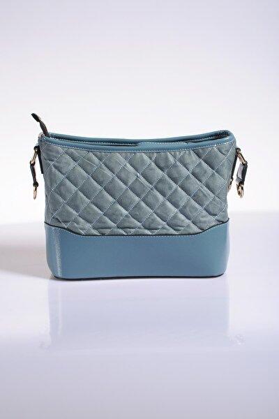 Luxury Td643 Mavi Kadın Omuz Çantası