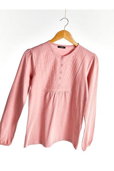 Kadın Mat Pembe  Tişört