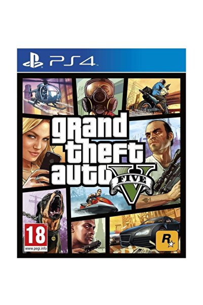 Grand Theft Auto 5 Ps4 Oyun