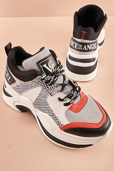 Gri Kadın Sneaker K0639175822