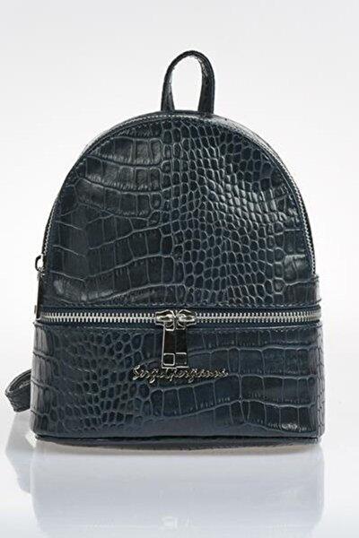 Luxury Sg1584xs Lacivert Kadın Sırt Çantası