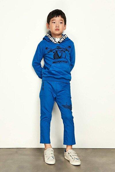 Erkek Çocuk Saks Pantolon