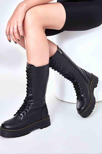 Siyah Kadın Çizme M08360006
