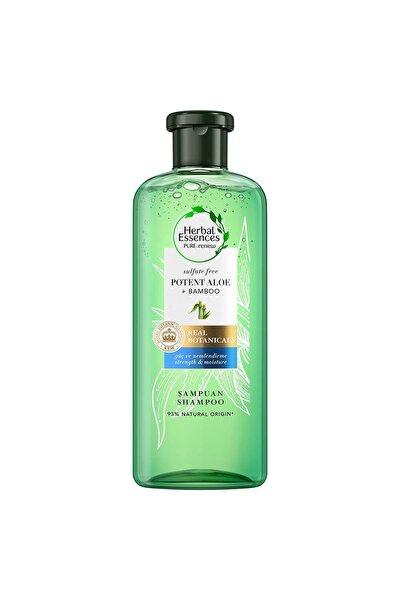Sülfatsız Güç Ve Nem Aloe + Bambu Şampuan 380 ml