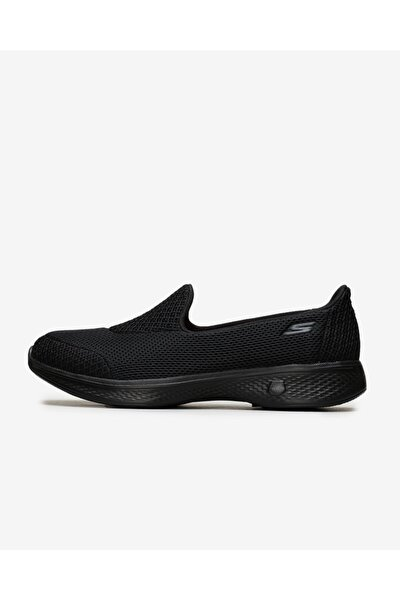GO WALK 4 Kadın Siyah Yürüyüş Ayakkabısı