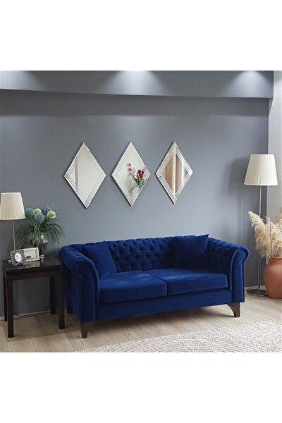 - 3 Lü Dekoratif Baklava Ayna A402d
