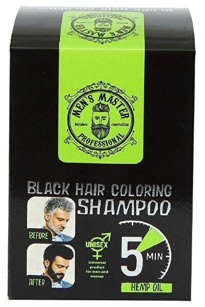 Men Saç Ve Sakal Renklendirici Unisex Siyah Şampuan 10x25ml
