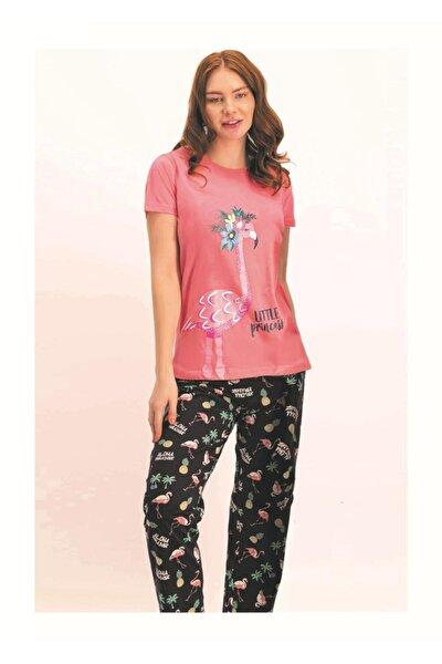 Kadın Kısa Kol Pijama Takımı 1769