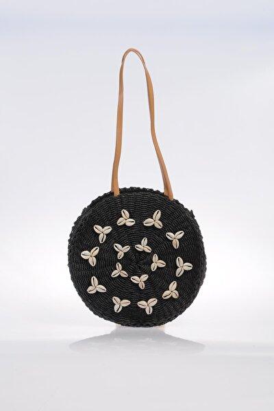 Luxury Sghsr1046 Siyah Kadın Omuz Çantası