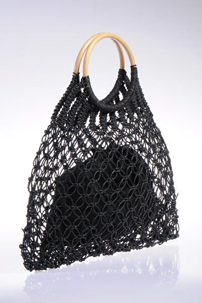 Luxury Sghsr1007 Siyah Kadın Omuz Çantası