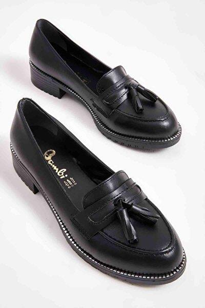 Siyah Kadın Loafer Ayakkabı M07782340