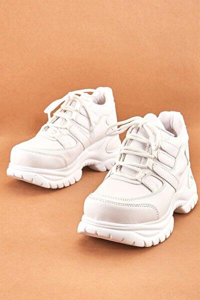 Beyaz Kadın Sneaker K05473687