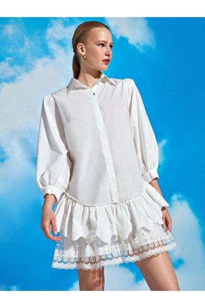 Brodeli Mini Elbise