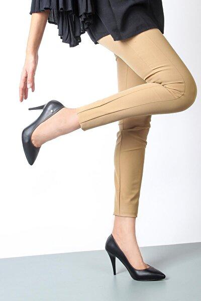 Yüksek Topuklu Siyah Kadın Ayakkabı