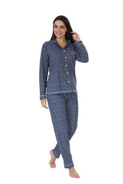 Ekstra Yumuşak Kumaş Pijama Takımı 98145