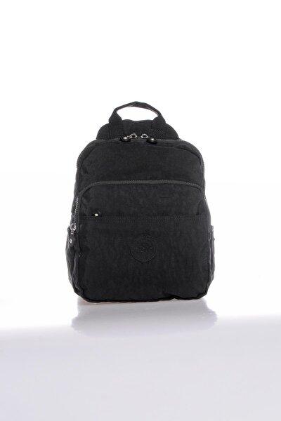 Brck3042-0001 Siyah Kadın Sırt Çantası
