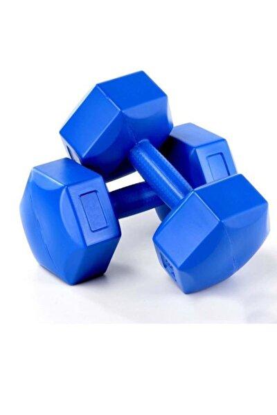5 Kg Dambıl Ağırlık Seti 5 Kg X 2 Adet=10 Kg Dambıl Köşeli Dumbell Set
