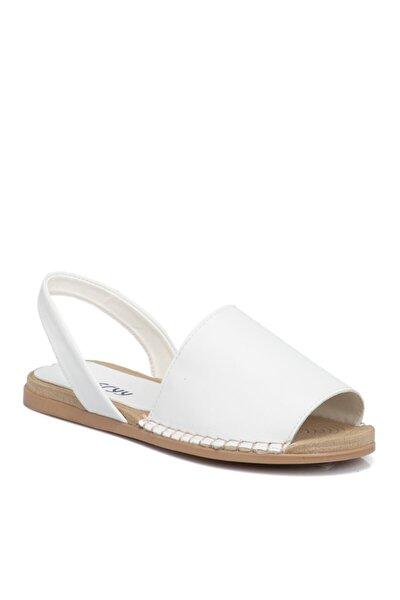 Beyaz Vegan Kadın Sandalet 210112d93