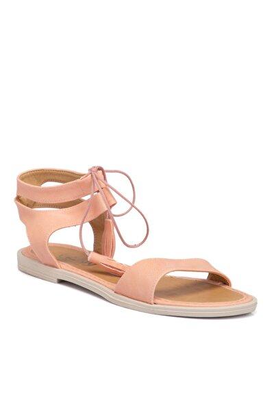 Pembe Vegan Kadın Sandalet 210138q2q