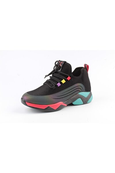 Alisma Bayan Sneaker Ayakkabı G20k355-1 Siyah