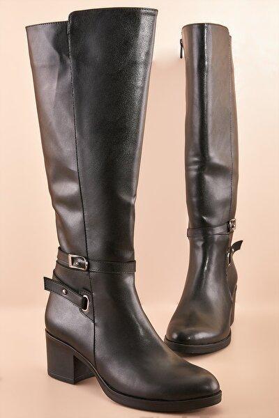 Siyah Kadın Çizme K05384800