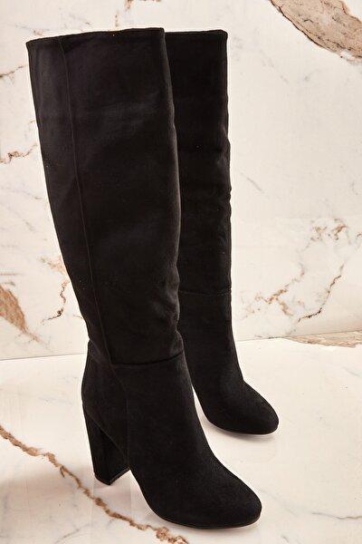 Siyah Kadın Çizme K06391130