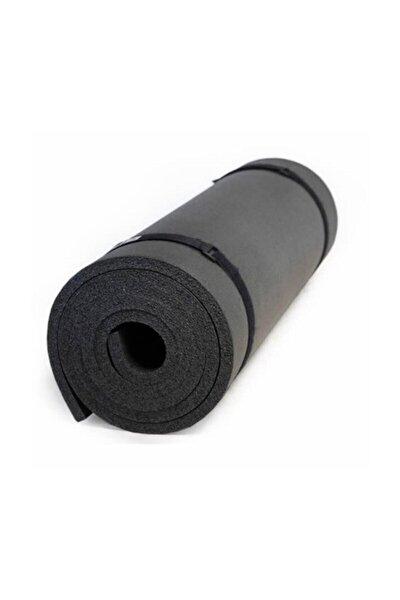 10 Mm Pilates Matı Yoga Matı Kamp Matı Siyah Boy 180 Cm En 61 Cm Kalınlık