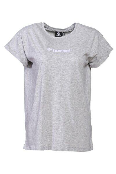 Veranso T-shırt Kadın T-shirt Lıght Grey Melange 911371-2010