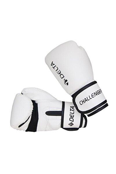 Challenger Dura-strong Beyaz-siyah Boks Eldiveni