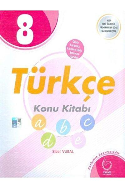 Palme 8. Sınıf Türkçe Konu Kitabı