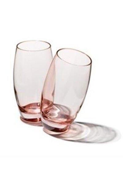 41020 6 Lı Bardak - Su Bardağı - Meşrubat Bardağı Pembe