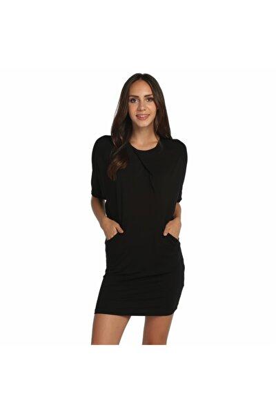 Kadın Siyah Elbise - Bga503324