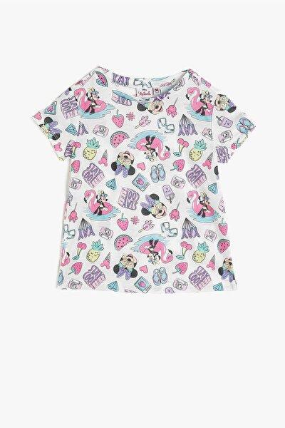 Kız Çocuk Minnie By Gri T-shirt