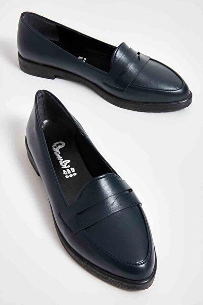 Lacivert Kadın Loafer Ayakkabı M06411700