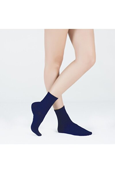 Harold Bambu Kadın Soket Çorap - Lacivert