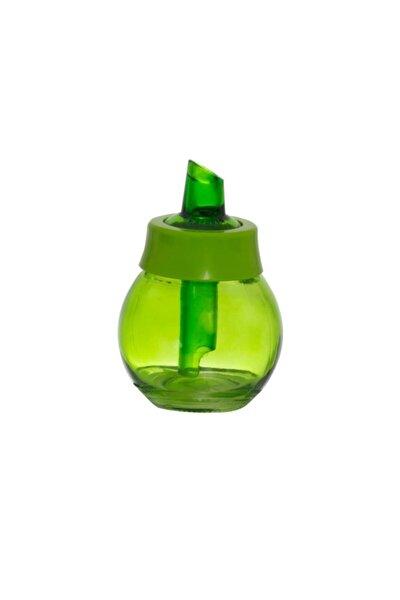 200 Cc Yeşil Renkli Cam Toz Şekerlik