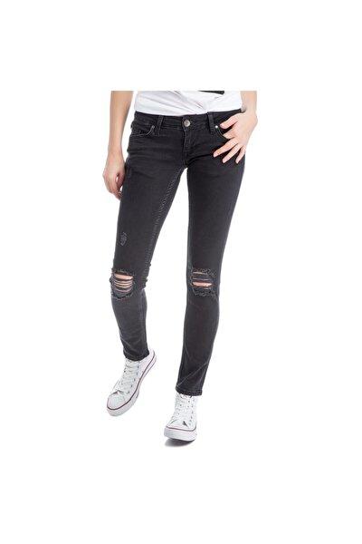 Gina Skinny Kadın Jean Pantolon Antrazit