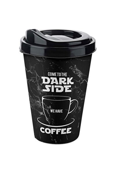 Coffee Bardak 400 ml Special Cup Dark Side